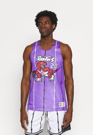 NBA TORONTO RAPTORS DAMON STOUDAMIRE REVERSIBLE TANK - Club wear - purple/white
