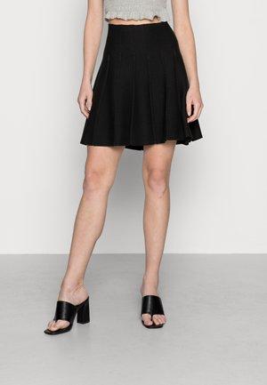 YOUNG LADIES SKIRT - Mini skirt - black
