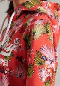 Superdry - Hoodie - brushed pink palm - 2