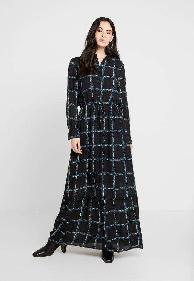 MALEY DRESS - Maxi-jurk - black