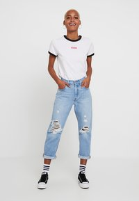 Levi's® - 501® CROP - Jeans straight leg - montgomery patched - 1