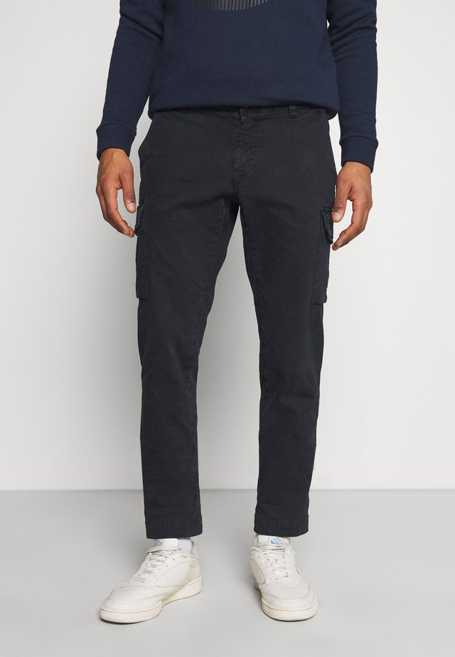 CHILE - Pantaloni cargo - dark blue