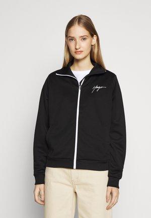 NANINIA - veste en sweat zippée - black