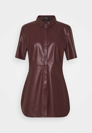 PATRICE - Blouse - rum raisin