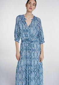 SET - Maxi dress - white blue - 4