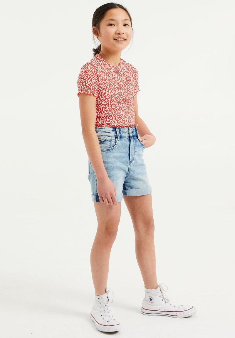 WE Fashion - Jeans Short / cowboy shorts - light blue