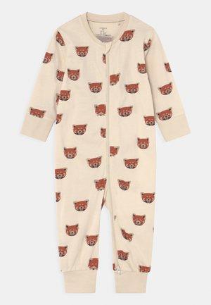 PANDA AT BACK UNISEX - Pyjamaser - light beige