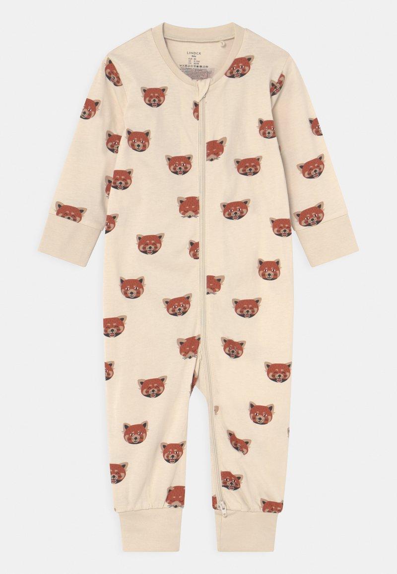 Lindex - PANDA AT BACK UNISEX - Pyjama - light beige