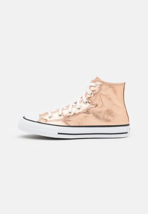 CHUCK TAYLOR ALL STAR - Korkeavartiset tennarit - natural ivory/light gold/white
