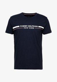 Tommy Hilfiger - YACHT STRIPE TEE - Print T-shirt - blue - 4