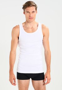 Zalando Essentials - 3 PACK - Undershirt - white - 0