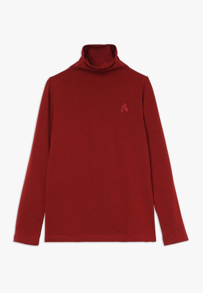GRO - ISA - Bluzka z długim rękawem - bourgogne