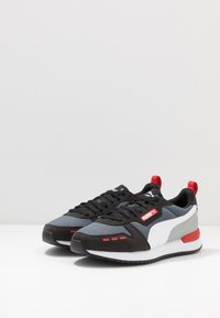 Puma - R78 UNISEX - Baskets basses - castlerock/black/white - 2