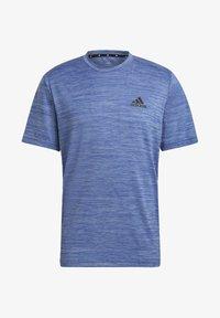adidas Performance - M HT EL TEE - T-shirt z nadrukiem - blue - 6