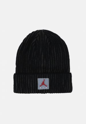 AIR PATCH TWO TONE BEANIE - Čepice - black