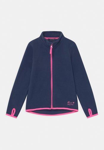 KIDS GIRLS - Fleecová bunda - blau