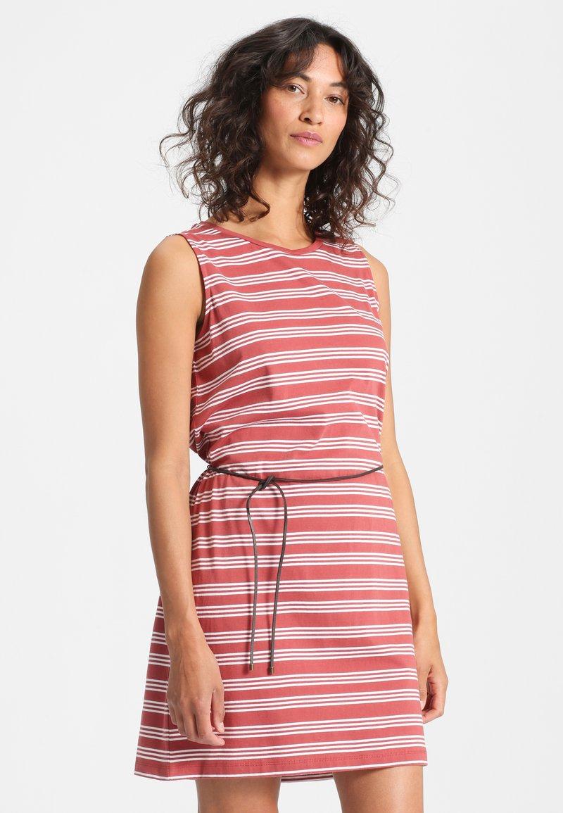 Forvert - KALIDA - Day dress - red/white