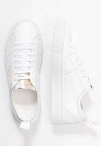 HUGO - VICTORIA CUT - Trainers - white - 3