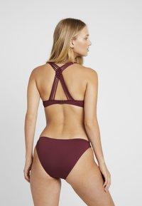 LASCANA - PUSH UP SET - Bikini - bordeaux - 2