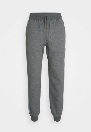 OWN BRAND TRACK - Tracksuit bottoms - grey heather