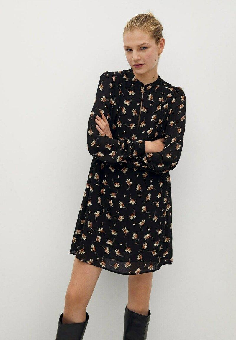 Mango - OSLO - Day dress - schwarz