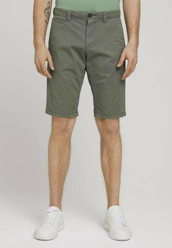 JOSH  - Shorts - olive minimal design