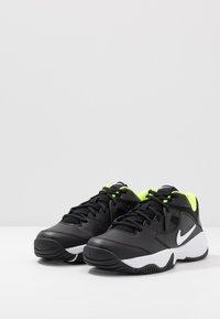 Nike Performance - COURT LITE 2 - Zapatillas de tenis para todas las superficies - black/white/volt - 2