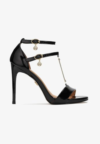 LAZURITE - High heeled sandals - black