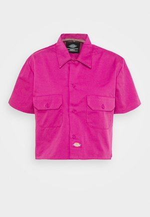 GROVE - Button-down blouse - pink berry