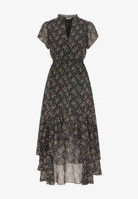 DreiMaster - Maxi dress - schwarz geblümt - 4