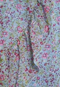 JDY - JDYJENNIFER LIFE MINI SKIRT - Mini skirt - baby blue/pink - 2