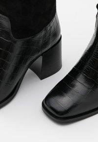 Scotch & Soda - FLORENCE - Vysoká obuv - black - 5