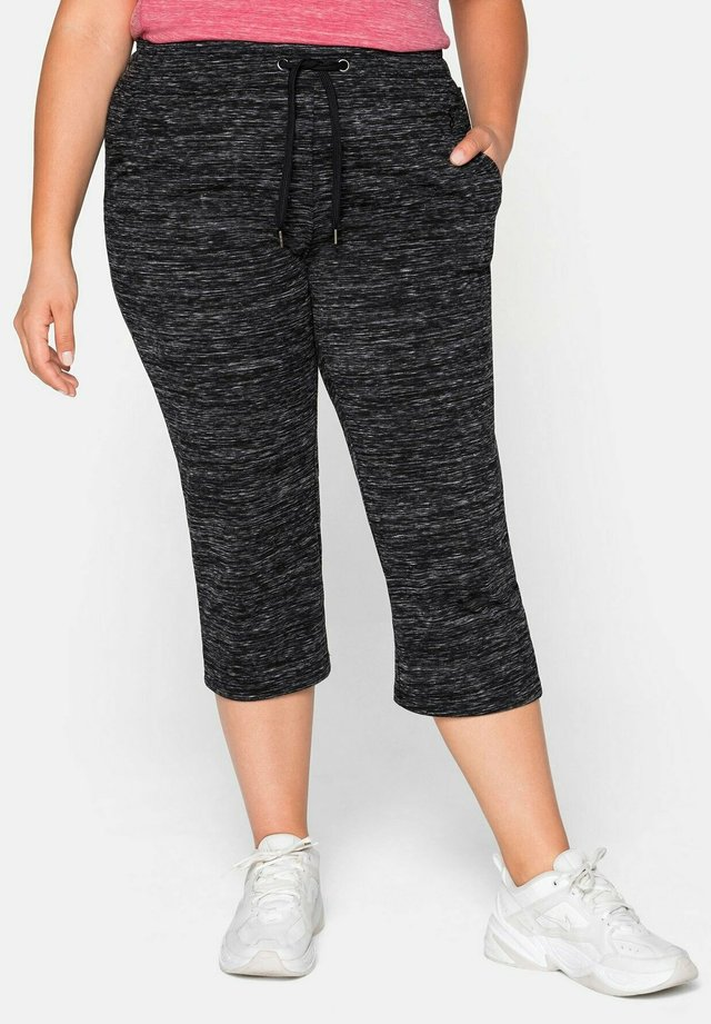 3/4 sports trousers - anthrazit meliert