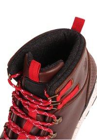 Element - MONDE - Lace-up ankle boots - walnut - 5