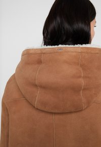 BOSS - JANUARY - Leather jacket - light/pastel brown - 5
