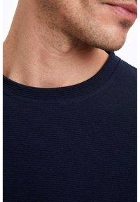 DeFacto - Basic T-shirt - indigo - 3