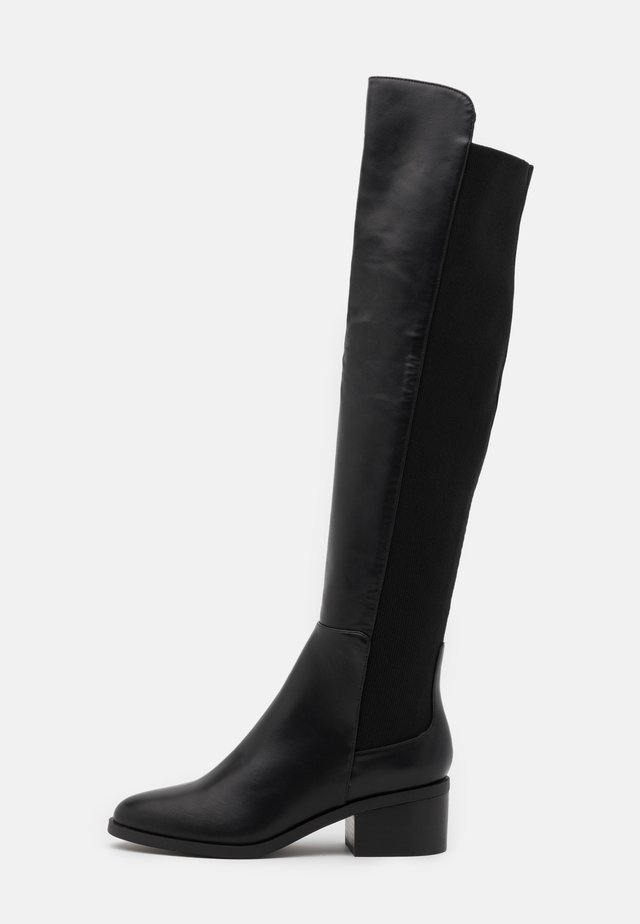 GRAPHITE - Over-the-knee boots - black paris