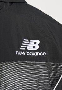 New Balance - ATHLETICS WINDBREAKER - Summer jacket - black - 6