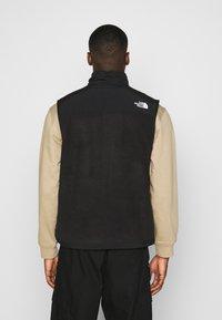 The North Face - DENALI VEST - Waistcoat - black - 2