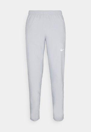 RUN STRIPE PANT - Träningsbyxor - light smoke grey/smoke grey/reflective silver
