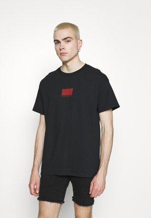SEASON - Print T-shirt - black