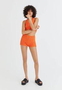 PULL&BEAR - Shorts - orange - 1