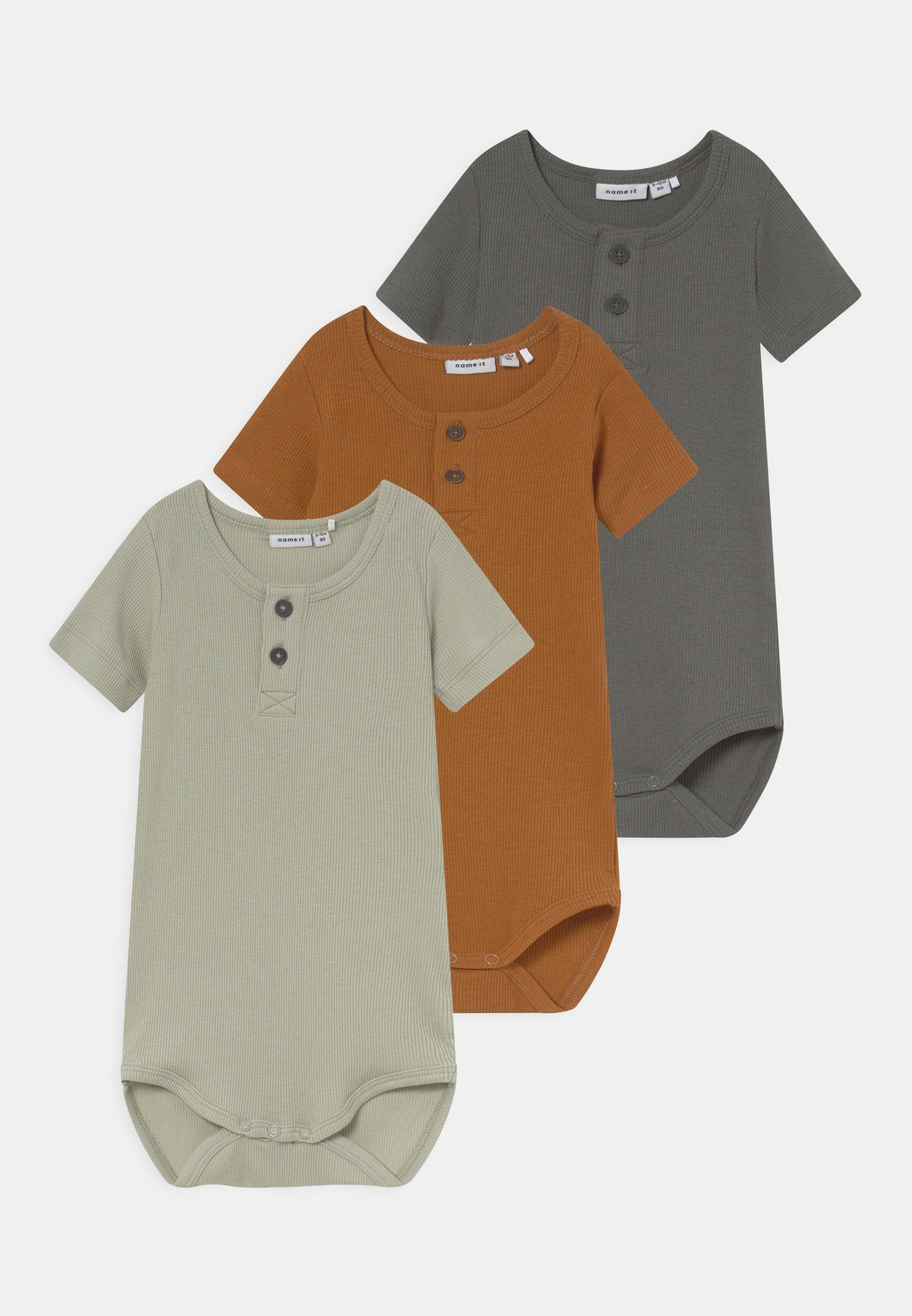Bambini NBMHUXI 3 PACK - T-shirt basic