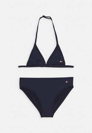 TRIANGLE SET - Bikini - blue
