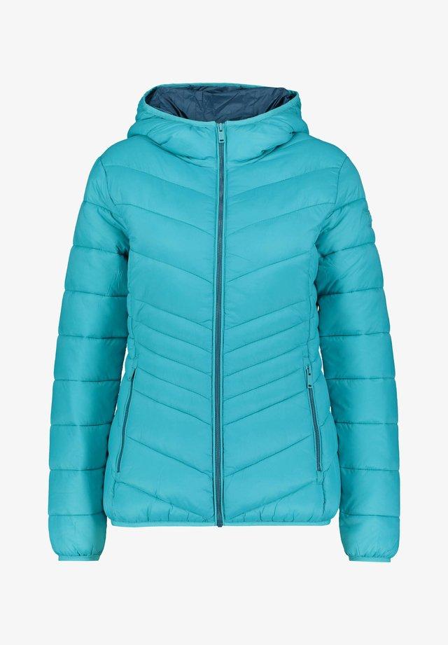 WOMAN JACKET FIX HOOD - Winter jacket - blau