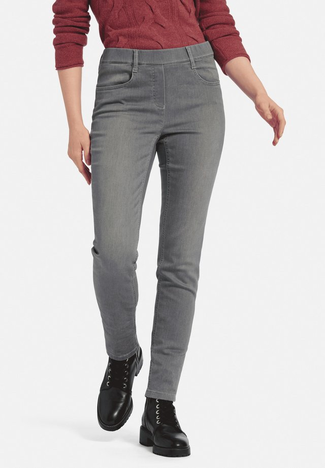SYLVIA - Jeggings - grau denim