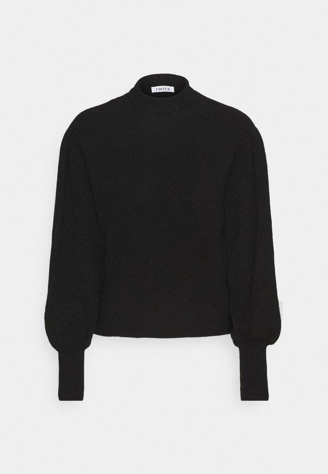 BRITTA JUMPER - Sweter - schwarz