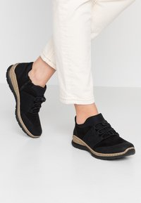 Rieker - Casual lace-ups - schwarz - 0