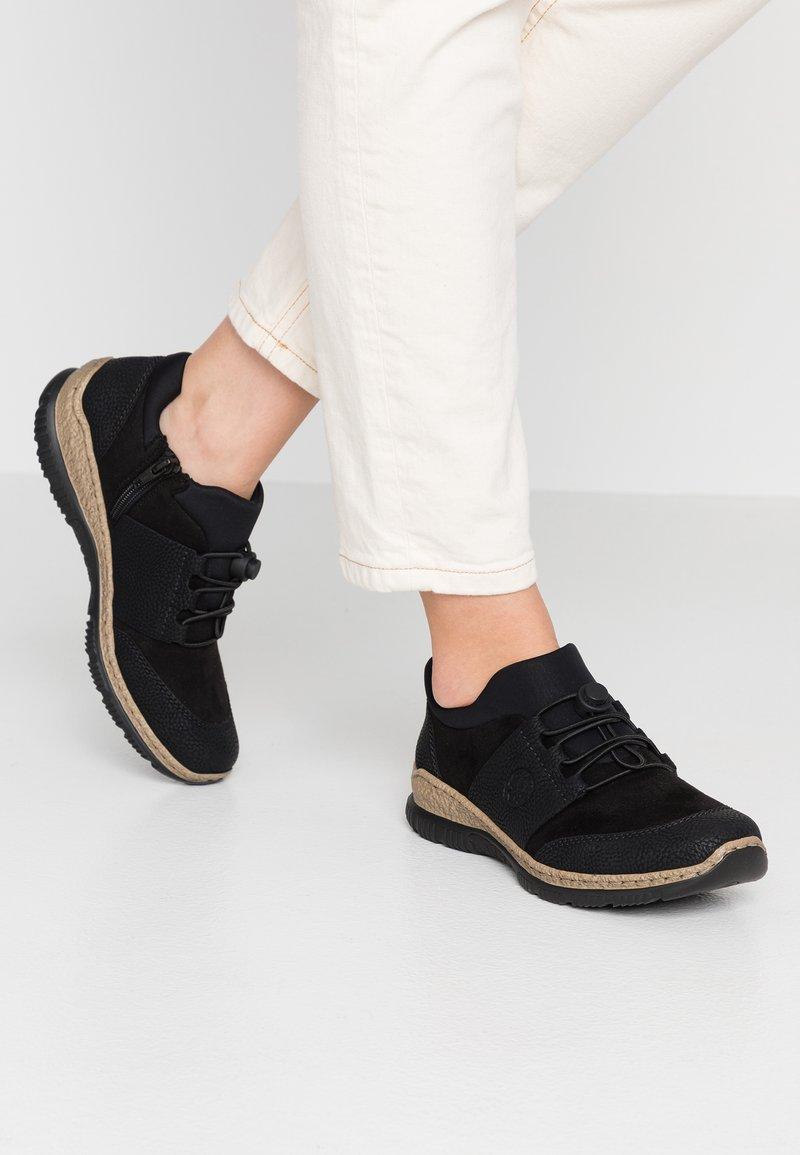 Rieker - Casual lace-ups - schwarz