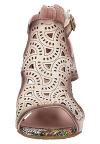 LAURA VITA - Sandalen met enkelbandjes - beige - 2